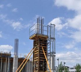 Compatibilità con diversi sistemi di casseforme per pilastri ULMA