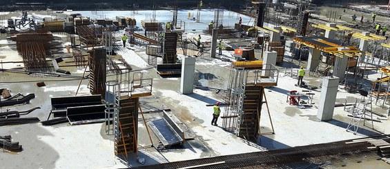 Sistema sicuro ed efficienza in termini di tempi e costi per la realizzazione di pilastri