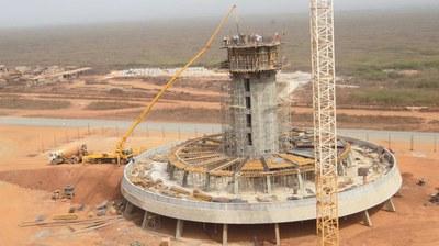 Torre di controllo dell'Aeroporto Internazionale di Dakar, Senegal