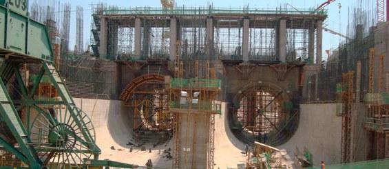 Centrale Idroelettrica Jirau, Porto Velho, Rondônia, Brasile
