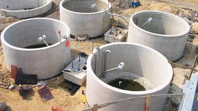 Planta de tratamiento de aguas residuales, Katowice, Polonia